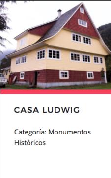 Casa Ludwig. Fuente: Monumentos.cl